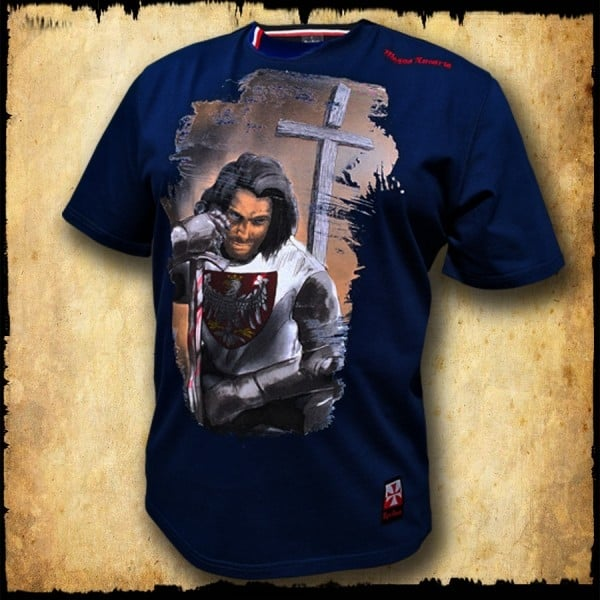 Koszulka Grunwald granatowa