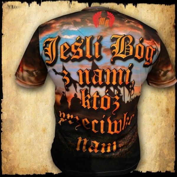 Koszulka męska - Jeśli Bóg
