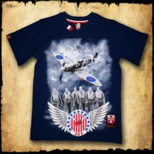 koszulka patriotyczna, dziecięca 303 GRANATOWA