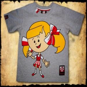 Koszulka patriotyczna dziecięca - Lola