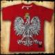 koszulka patriotyczna, dziecięca ORZEL CZERWONA PRZOD