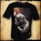 koszulka patriotyczna, męska - grom, czarna